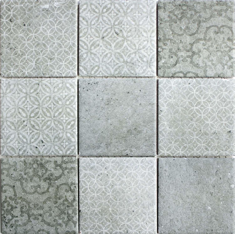 Mosaik Classique Grau 30x30cm In 2020 Mosaikfliesen Schabby Schick Haus Fliesen