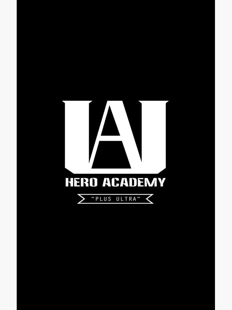U A High Plus Ultra Logo My Hero Academia Boku No Hero Academia Bnha Essential T Shirt By Random Fandom Merch School Slogans Drawing Prompt My Hero