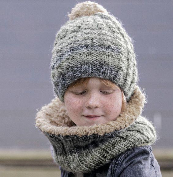 Modèle Bonnet Phil Mikado et Neige - Modèles Enfant - Phildar ... fb004acc24f