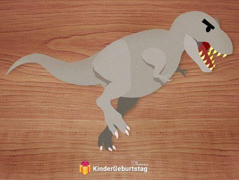 printable einladungskarten zum dinosaurier-kindergeburtstag   einladung kindergeburtstag basteln