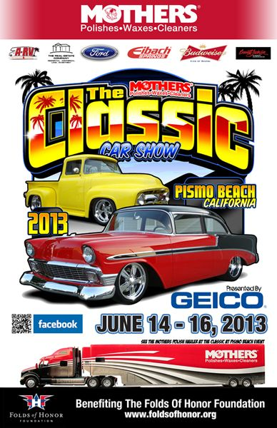 Th Annual Mothers Polish Classic At Pismo Beach Car Show Car - Classic car show pismo beach