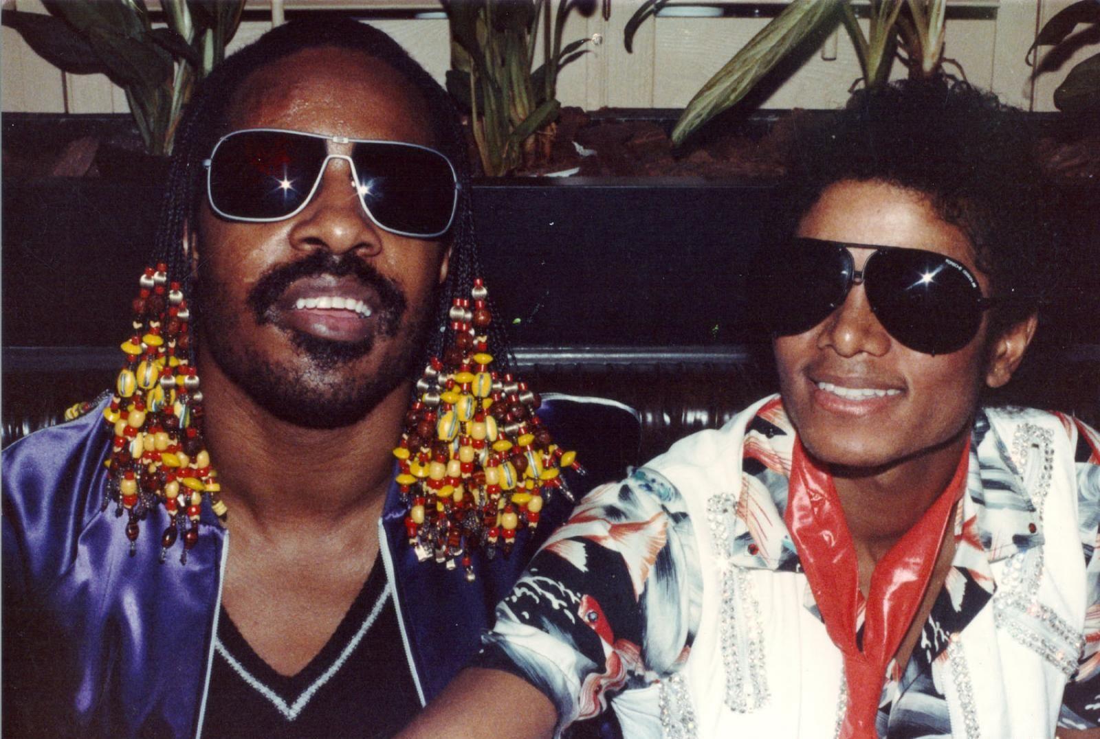 Stevie Wonder & MIchael Jackson