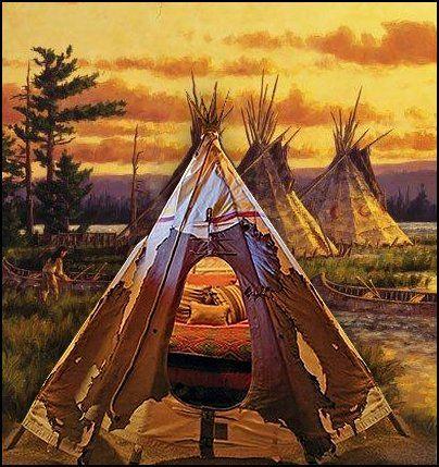 Native American Wall Murals Part 8