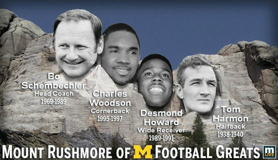 Pin by tmv on Sports Go Blue💙💛 Bo schembechler