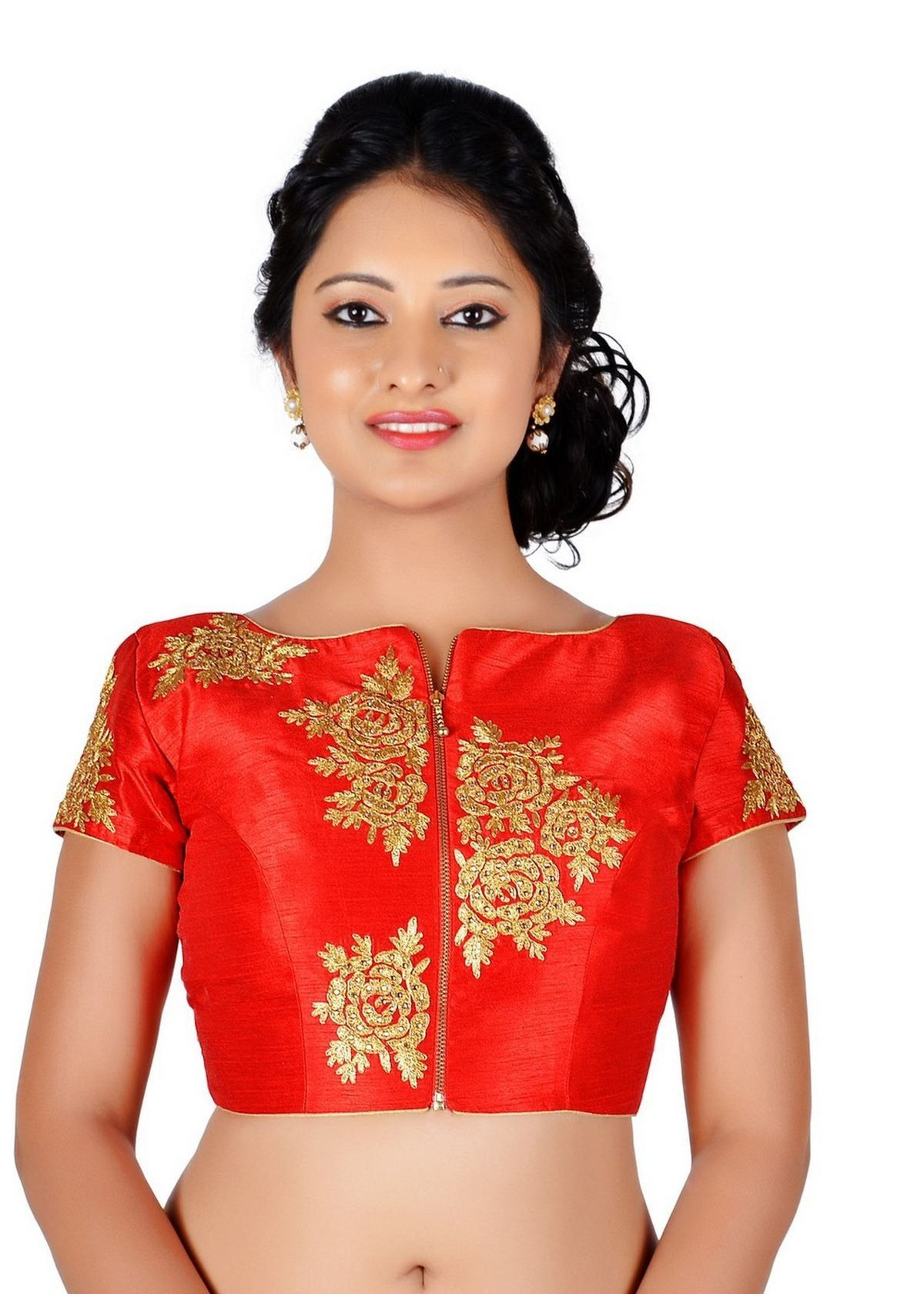 NEW STUNNING READYMADE PARTY WEAR BLOUSE with latest neck