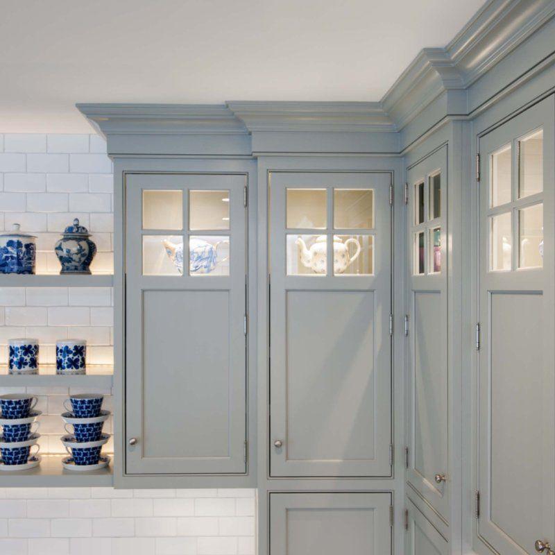 Best 113 07 Wood Maple Paint Color Ellie Gray Door Style 400 x 300
