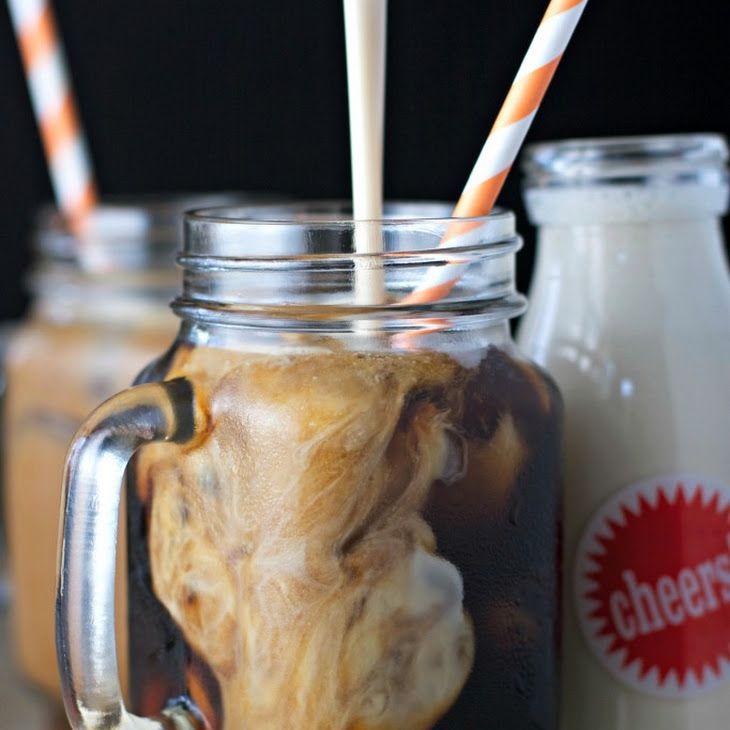 Amaretto coffee creamer vegan recipe beverages with