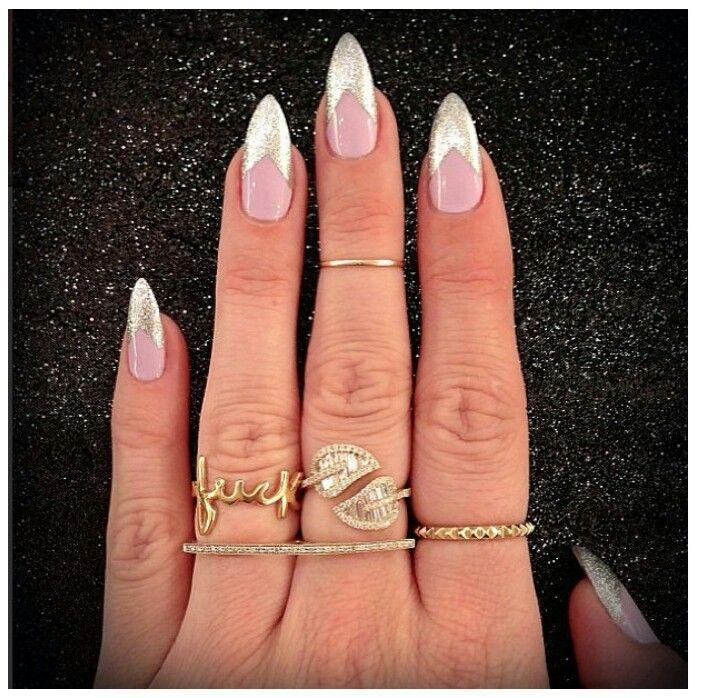 Cute white stiletto nails httpmycutenailscute white cute white stiletto nails httpmycutenailscute prinsesfo Image collections
