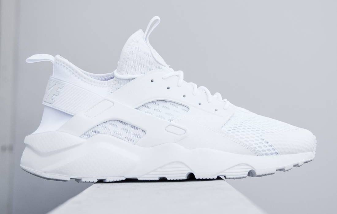 NIKE AIR HUARACHE RUN ULTRA BR 'Triple White' (via Kicks ...