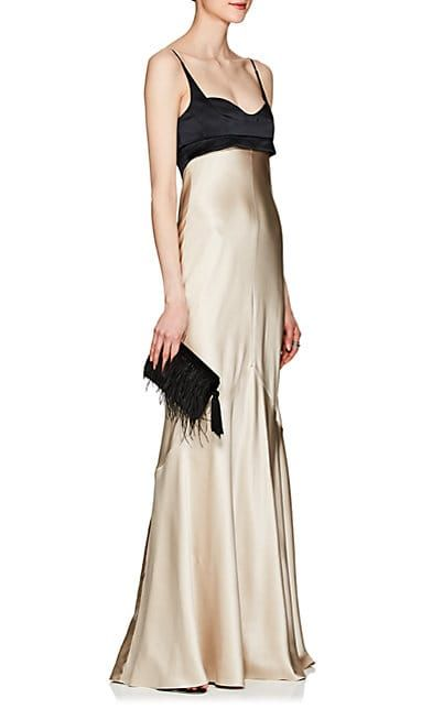 Womens Silk Charmeuse Gown Narciso Rodriguez Sale Clearance Discount Ebay 9T1OS