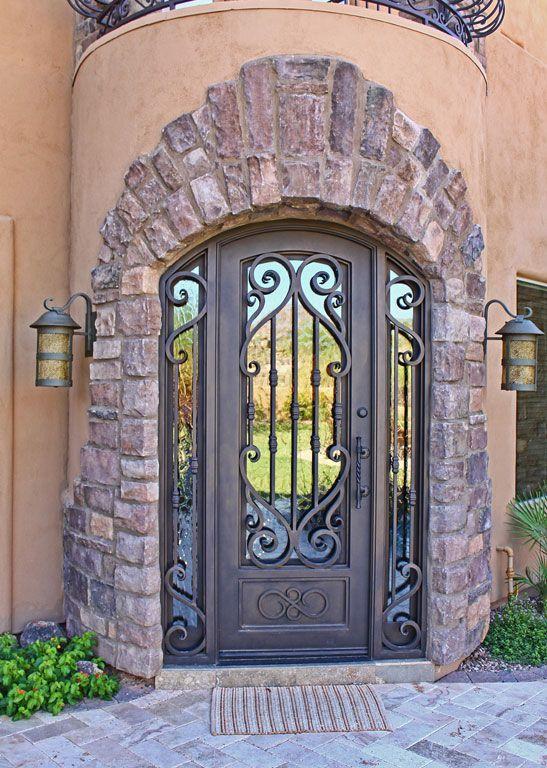 Verona Iron Entry Doors Entry Doors Iron Doors
