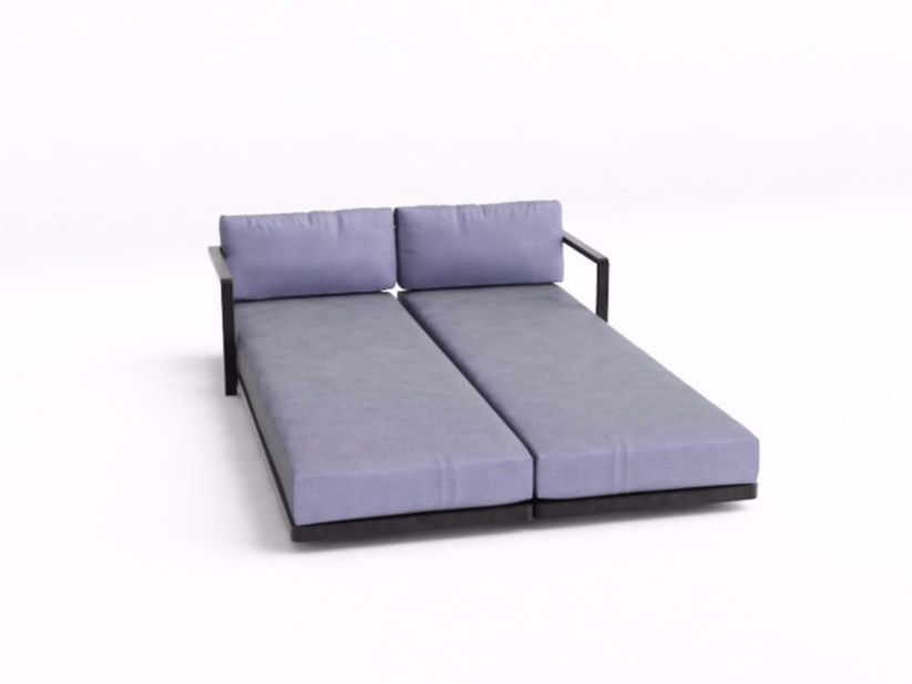 alura lounge double garden bed alura lounge collection by royal, Attraktive mobel