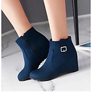 Women's+Shoes+PU+Winter+Comfort+Boots+For+Casual+Black+Red+Blue+–+USD+$+35.98