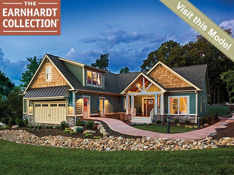 Schumacher homes blue ridge exterior starts at 2032 sq for Custom dream home plans