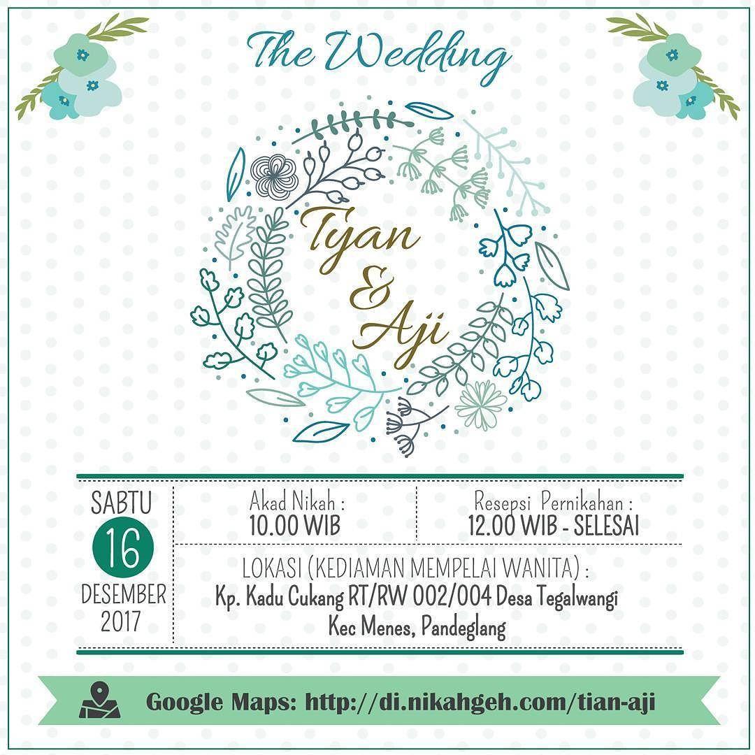 Https Nikahgeh Com E Invitation Tyan Aji Tanya Tanya Atau Info Lebih Lanjut Hubungi Wa 0856141006 Undangan Pernikahan Undangan Perkawinan Buku Tamu