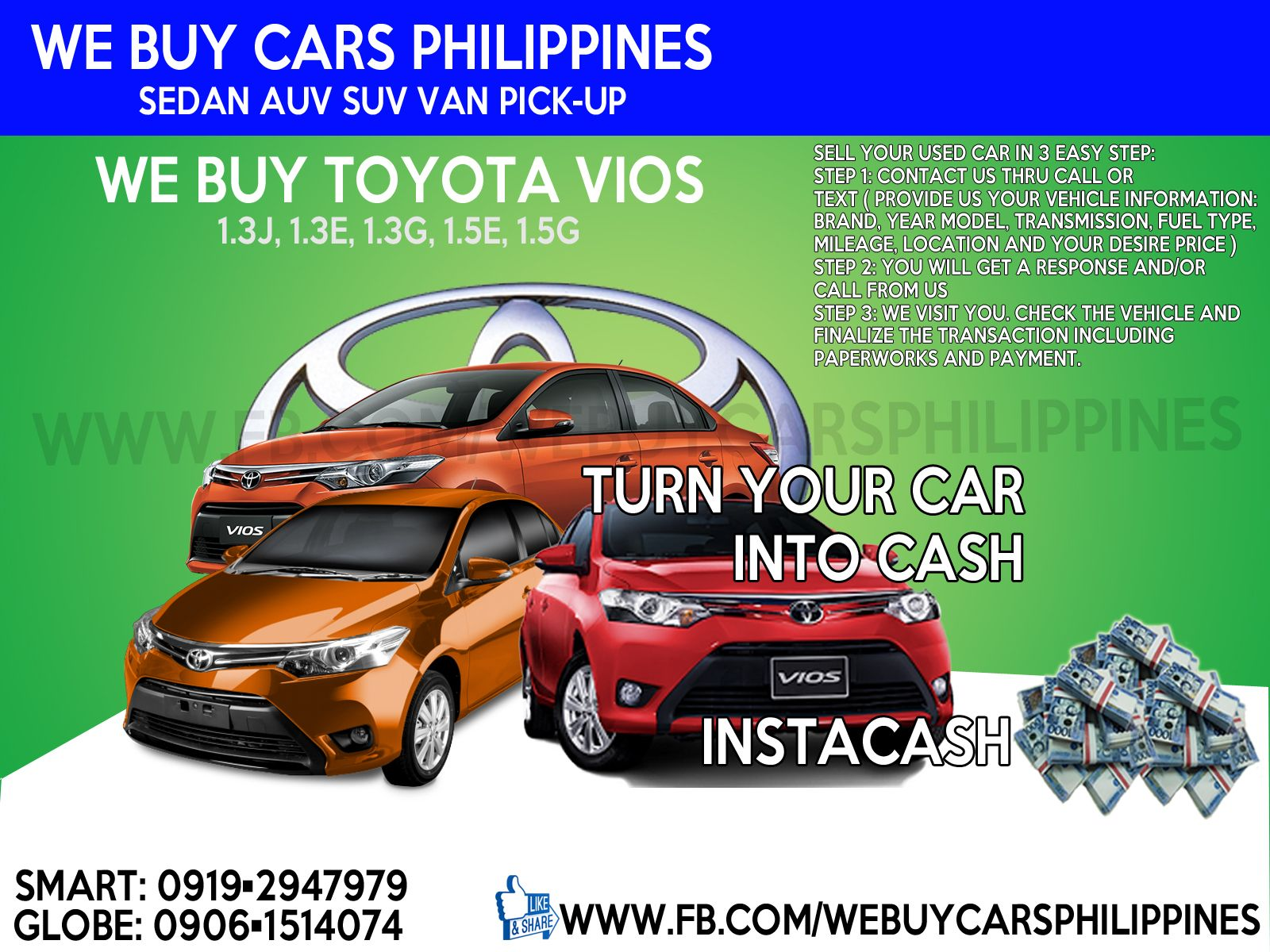 21 best We Buy Used Cars / Buying Cars Used Philippines images on ...