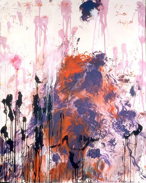 Cy Twombly. #art #abstract #expressionism