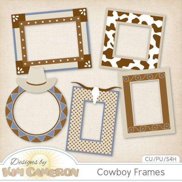 Daisies & Dimples Cowboy Frames CU [kimcameron_cowboyframes] - Add ...