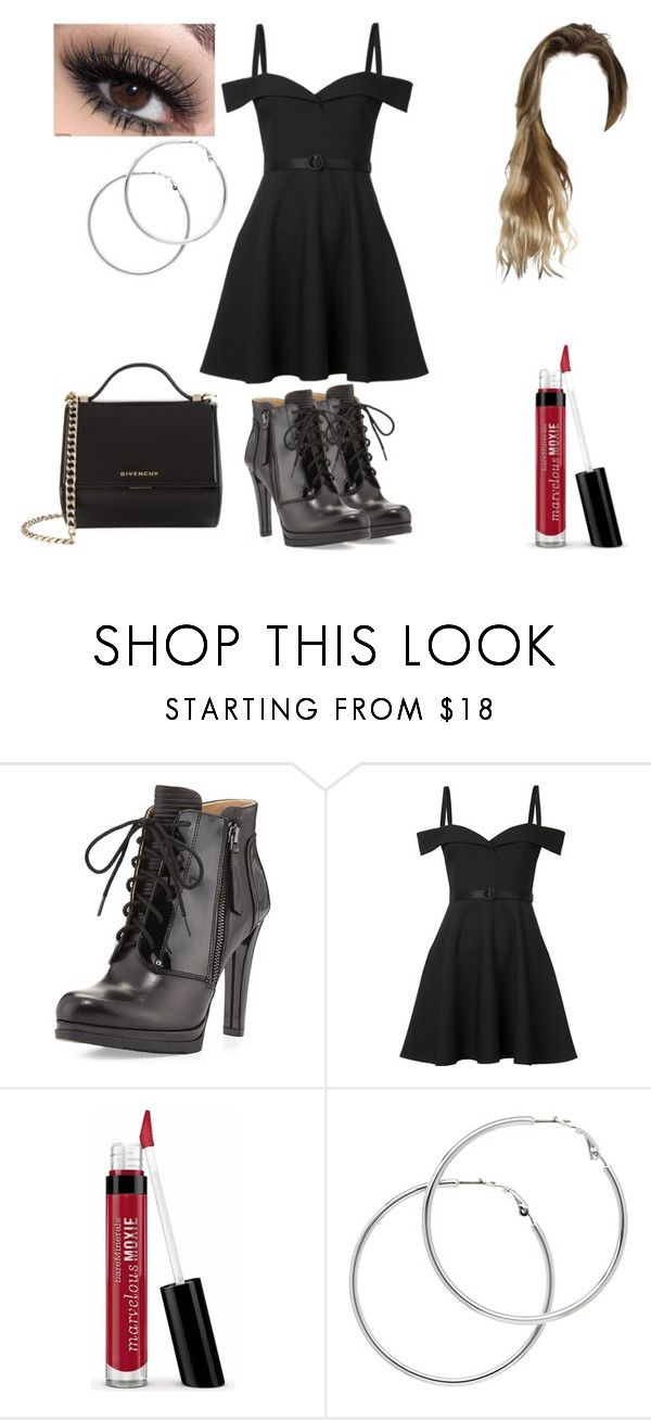 """""""Untitled #892"""" by nerdynerdy on Polyvore featuring Neiman Marcus, Cinq à Sept, Bare Escentuals, Melissa Odabash and Givenchy"""