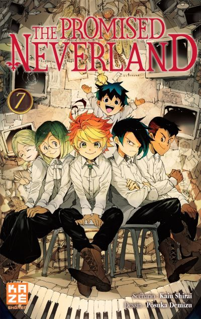 The Promised Neverland - Tome 07 : The Promised Neverland ...