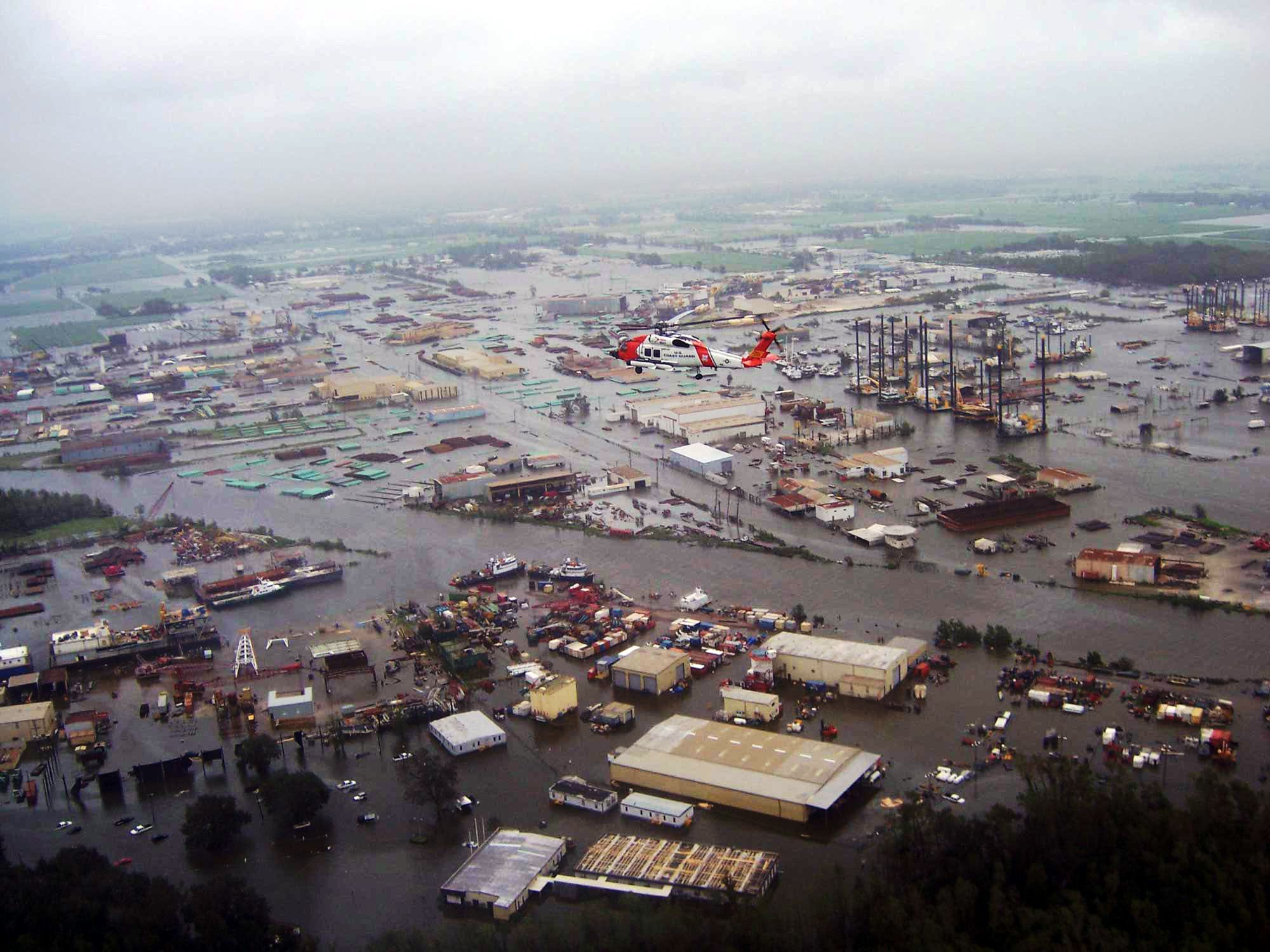 Hurricane Ike September 2008 Before Hitting Texas The Storm Ravaged Across Louisiana Large Areas Of Land Al Hurricane History New Iberia Hurricane Damage
