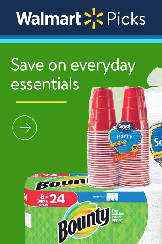 WalmartSave on everyday essentials #athletenutrition