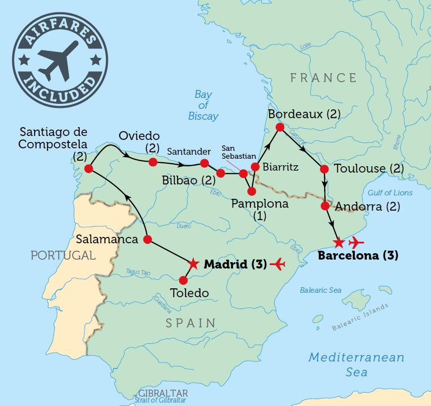 MapSpainFrancePyreneespng 871821 Travel Spain Pinterest