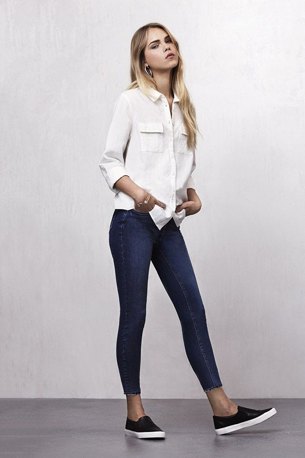 As It Gets Warmer Look To Ankle Grazer Jeans Perfect