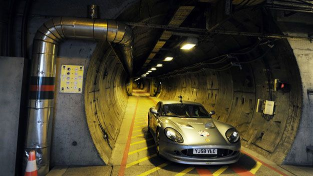 The Channel Tunnel A K A The Chunnel Is A 31 Mile Under The