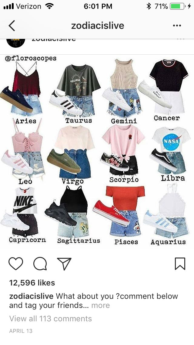 I\u0027m a Pisces but I wear more of a Scorpio outfit