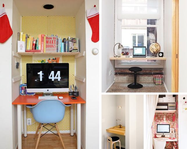 The Cupboard Under Stairs DIY Home Office Interior Design