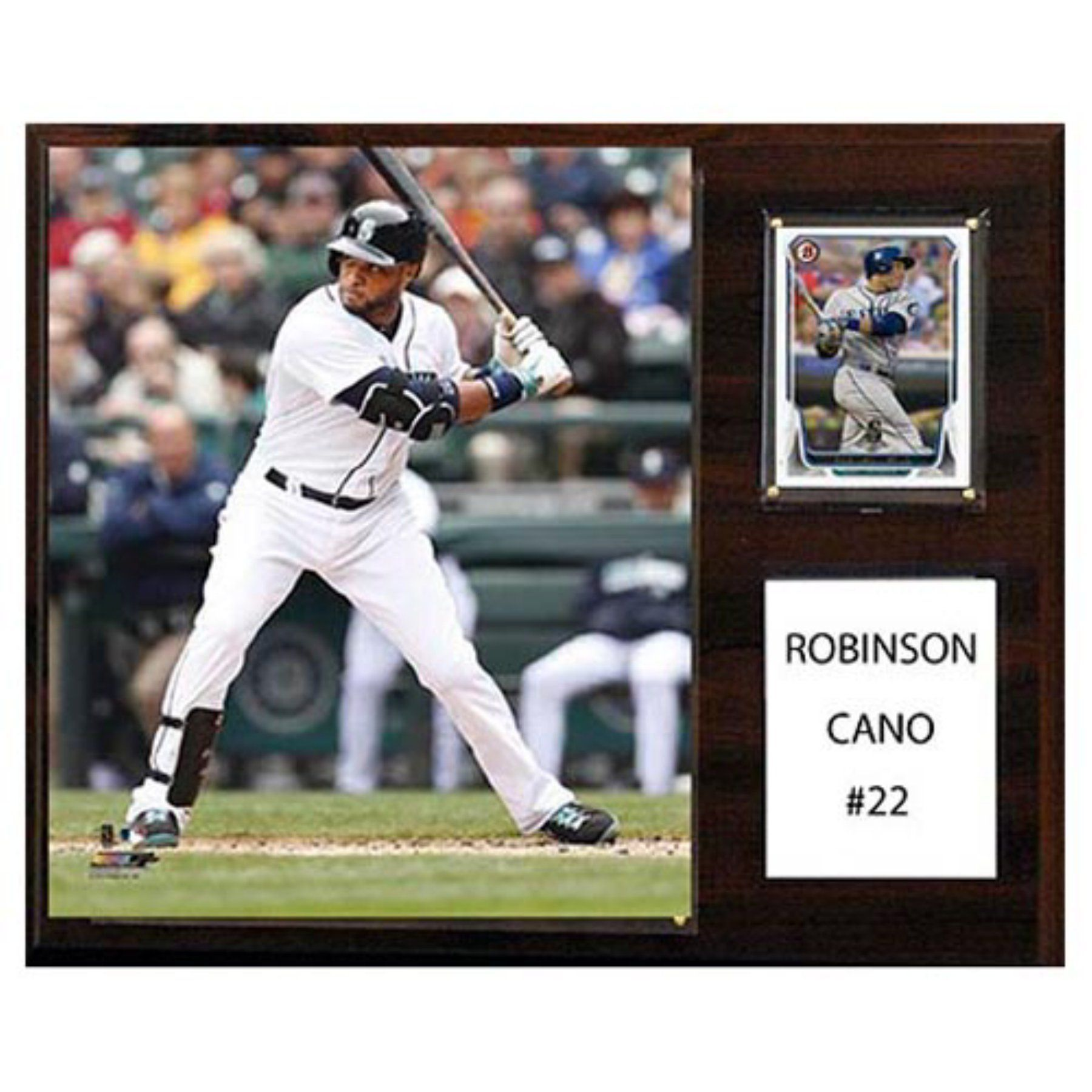 C And I Collectables Mlb 15w X 12h In Robinson Cano Seattle Mariners Player Plaque 1215canosea Seattle Mariners Robinson Cano Mariners
