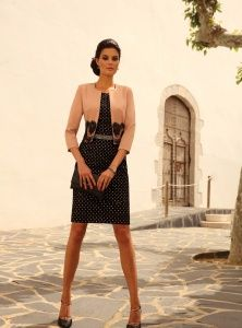 Vente robe cocktail linea raffaelli