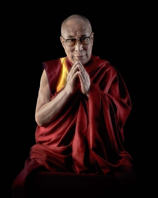 'Compassion' – The Dalai Lama At 80 (Photo by Chris Levine/www.himalayaprayer.org via Getty Images)