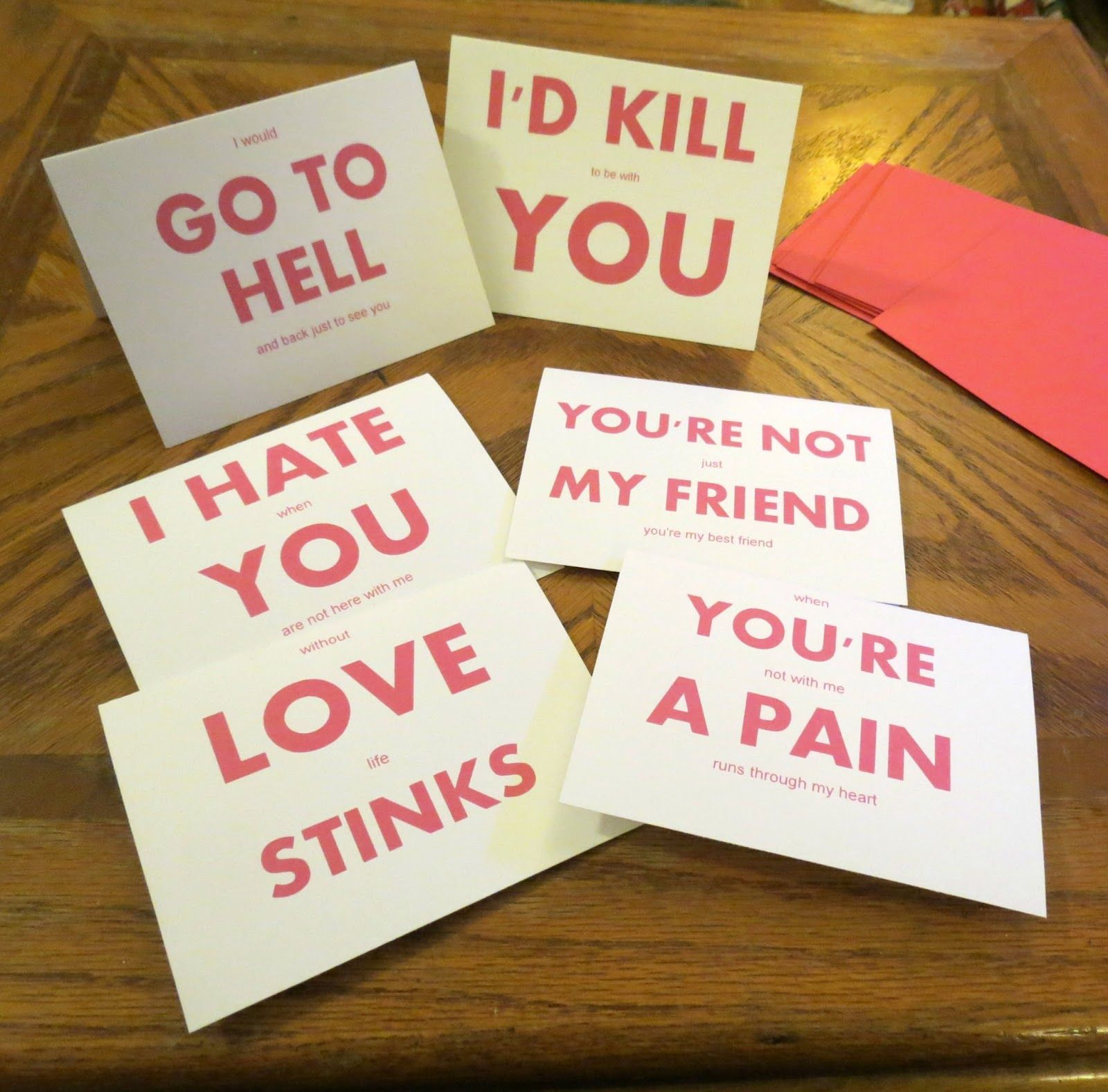 The Rude Greeting Card -- What If We Sent People Cards