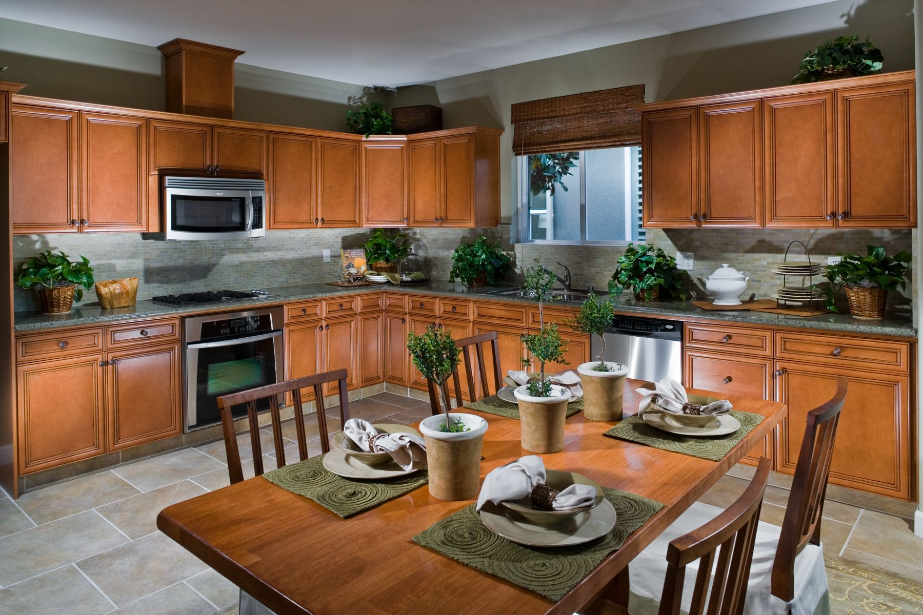 Open Kitchen at Madison Place New home communities, New