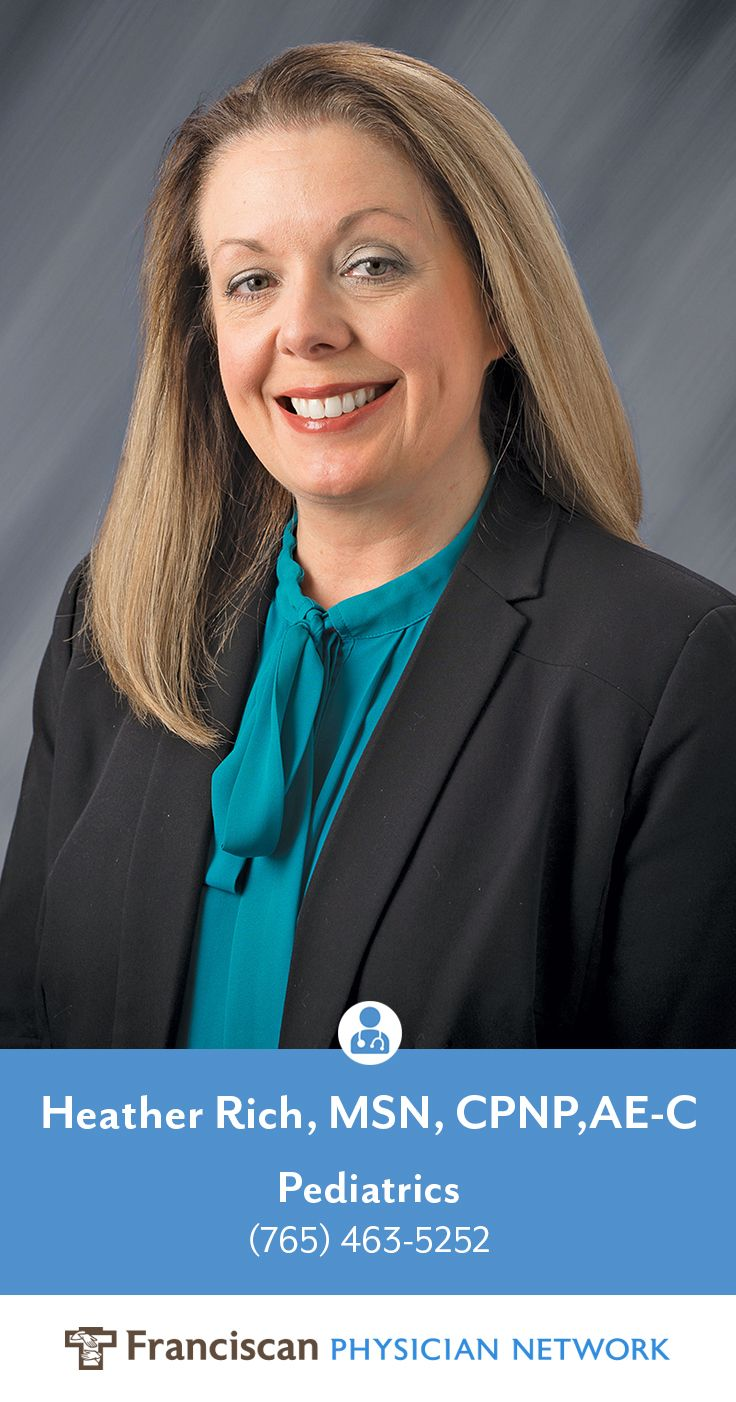 Heather Rich is a nurse practitioner, accepting new