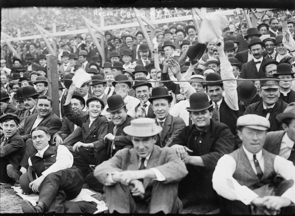 I could watch footage of 1910s & '20s baseball stadium