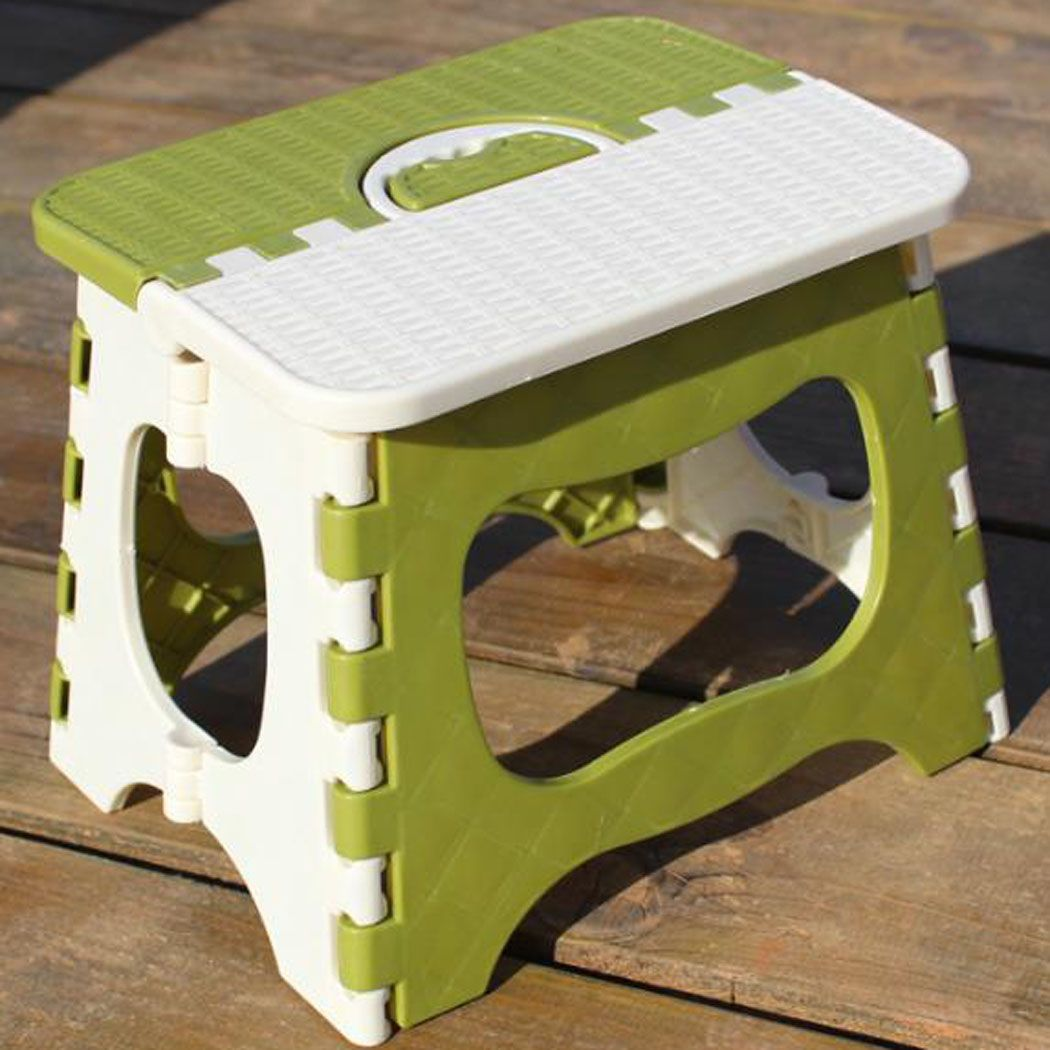 Folding Step Stool for Kids Toddler Stepping Foot Under