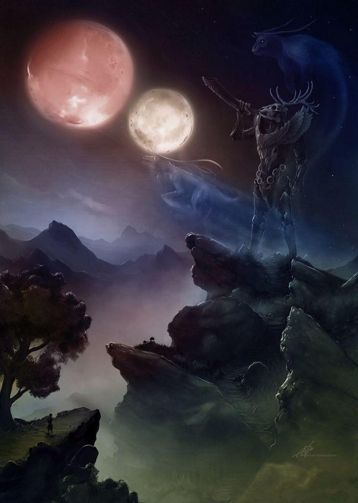 Hircine | Fan Art | Elder scrolls lore, Elder scrolls games