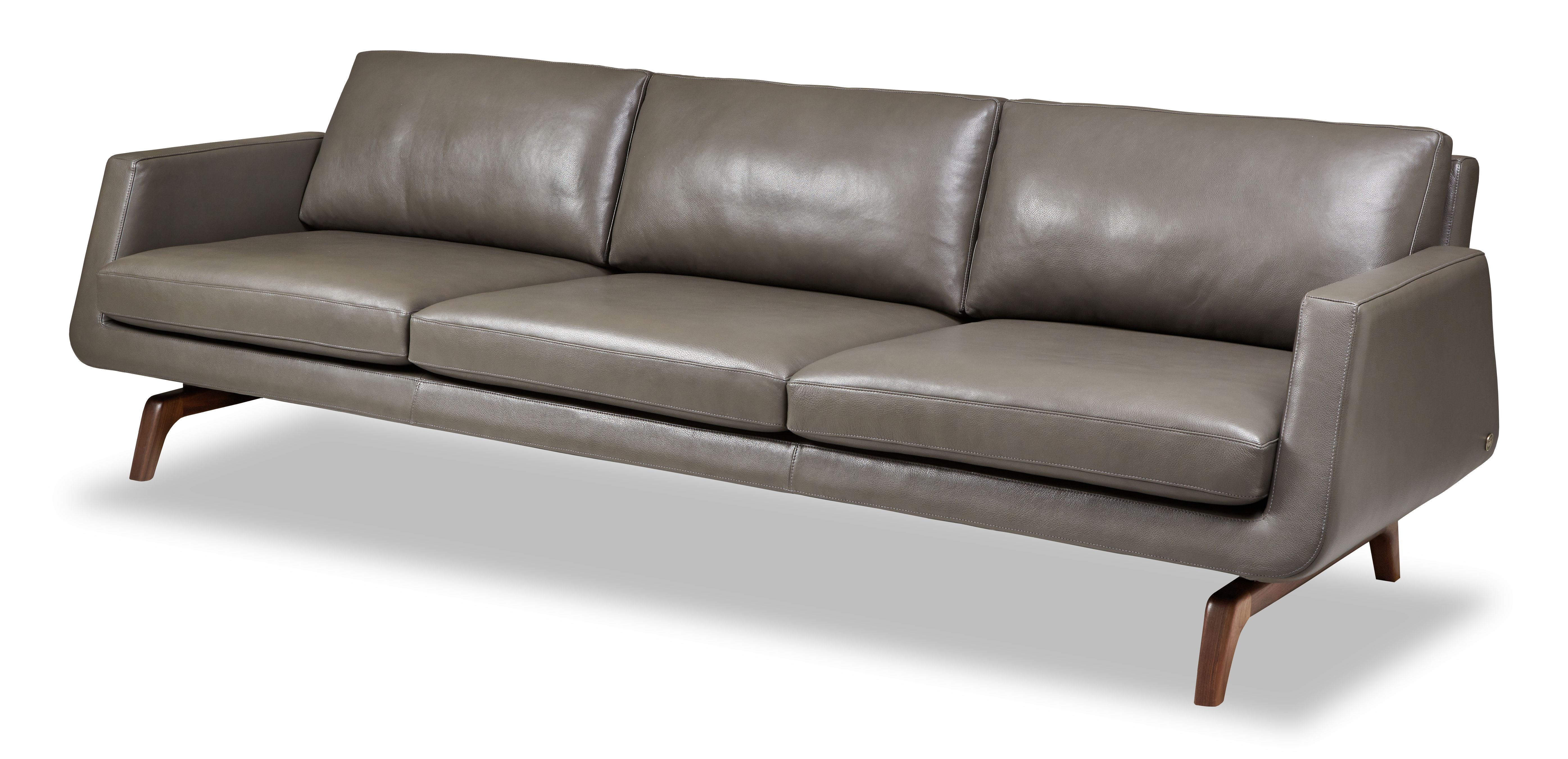 American leather nash sectional with chaises