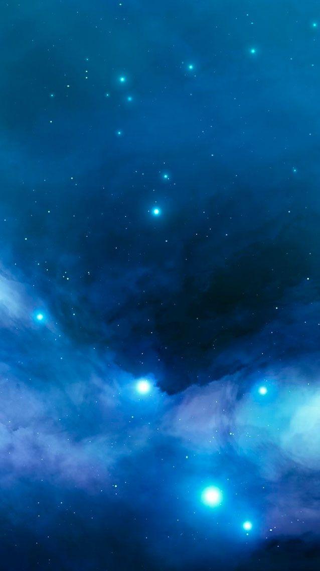 Starry Sky Iphone 5s Wallpaper Iphone 5 Se Wallpapers