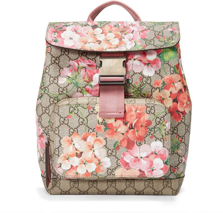 10b6a77ab733 Gucci Gg Blooms Small Backpack, Multi Rose $1,25000 It's A