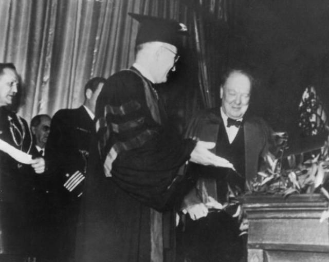 Words To Start A War Read Churchills Iron Curtain Speech