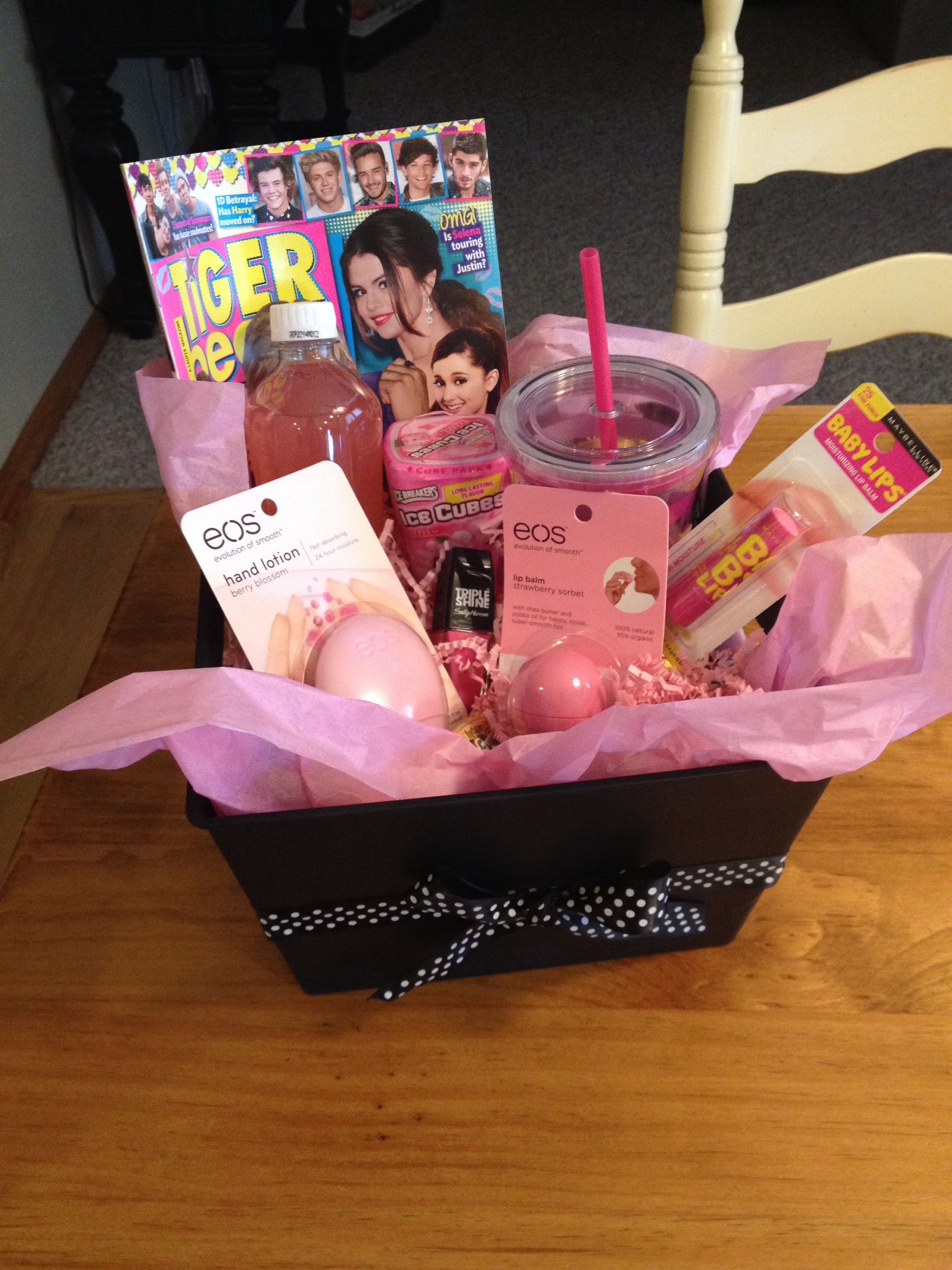 Tween Gift Idea Would Be Good For Our Oldest Friends Cute Gifts For Friends Girl Gift Baskets Birthday Gifts For Best Friend