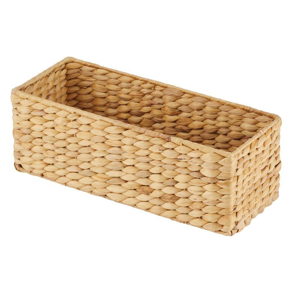 Natural Woven Hyacinth Storage Basket Bathroom Basket Storage Storage Baskets Bathroom Storage Organization