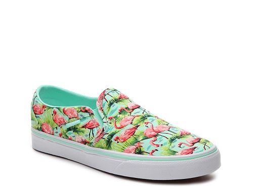 Vans Asher Flamingo Sneaker - Womens
