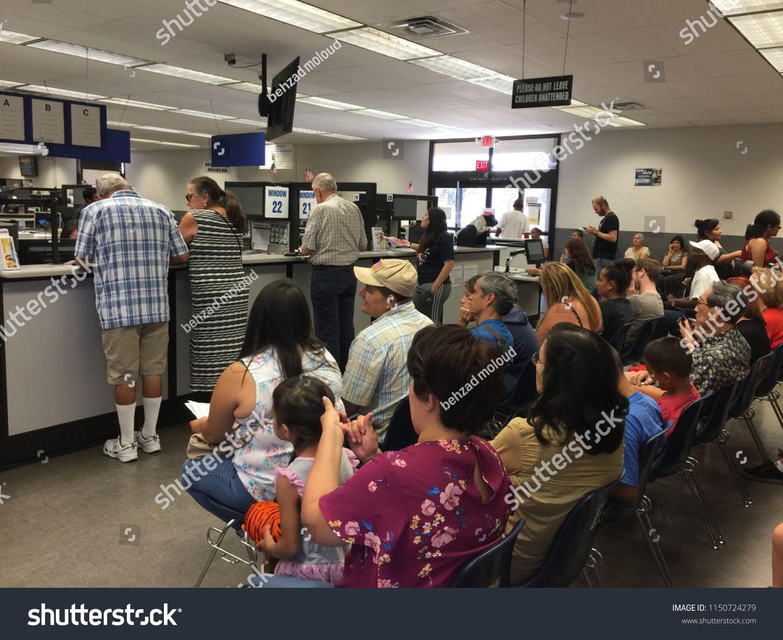 Van Nuys California Usa August 6 2018 The California