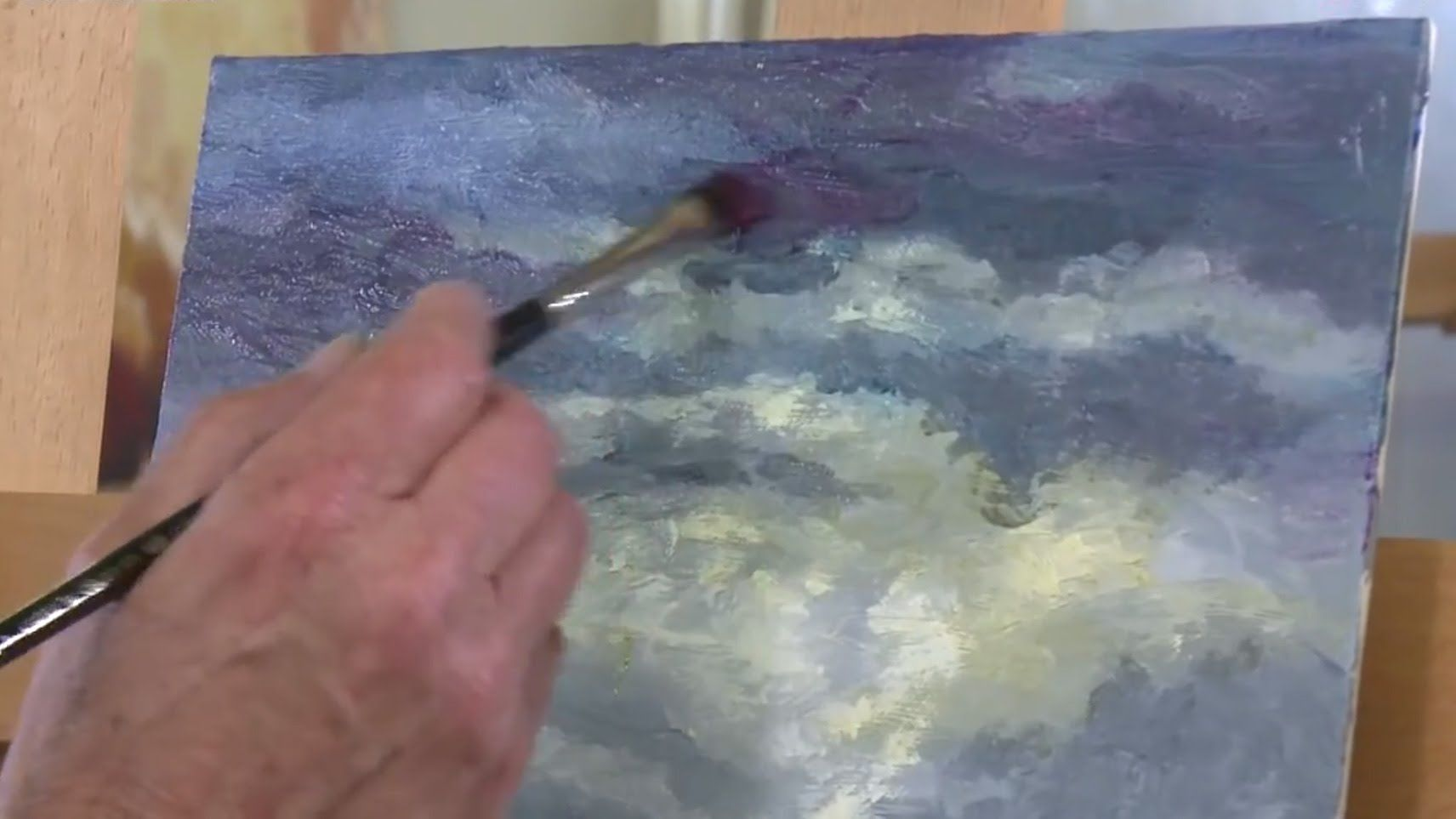 Cobra Water Mixable Oils - Lesson 7 - Glazes and Washes