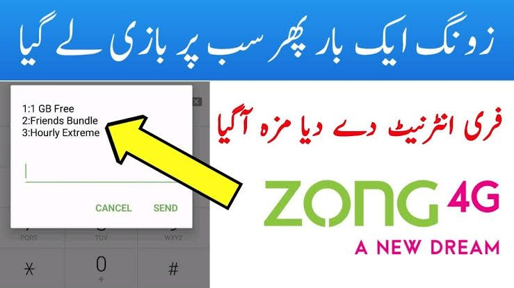 Zong Free Internet Packages Code 2020 In 2020 Internet Packages Coding Internet Code